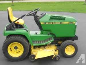 john deere 285 garden tractor mower - (waseca) for Sale in ...