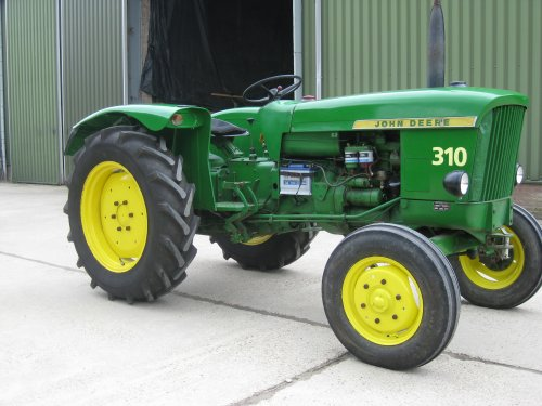 John Deere 310 Pictures - United Kingdom