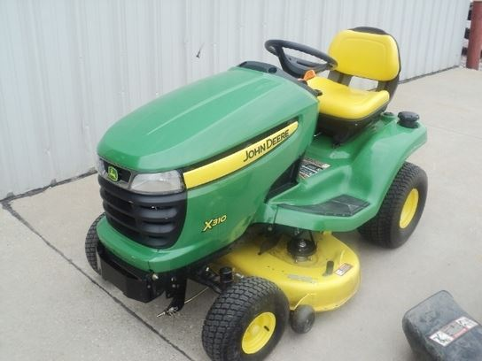 John Deere X310 for sale Lawton, IA Price: $2,800, Year ...