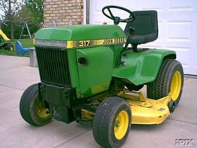 John Deere 317 garden tractor(id:227129) Product details ...