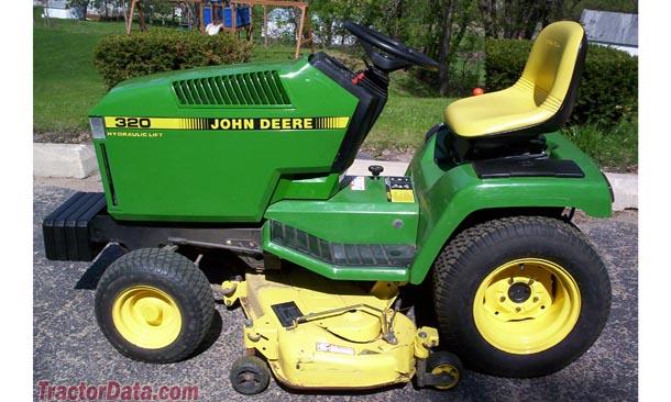 TractorData.com John Deere 320 tractor photos information