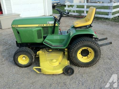 John Deere 400 lawn garden tractor for Sale in Peru ...