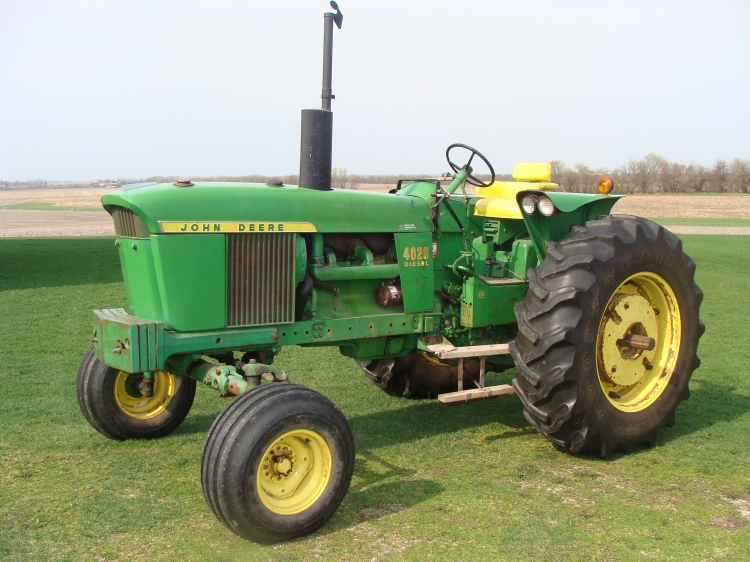 Gallery For > John Deere Tractors 4020