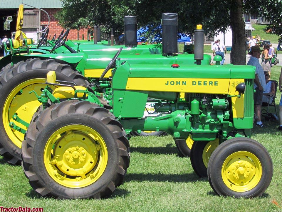 TractorData.com John Deere 430 tractor photos information