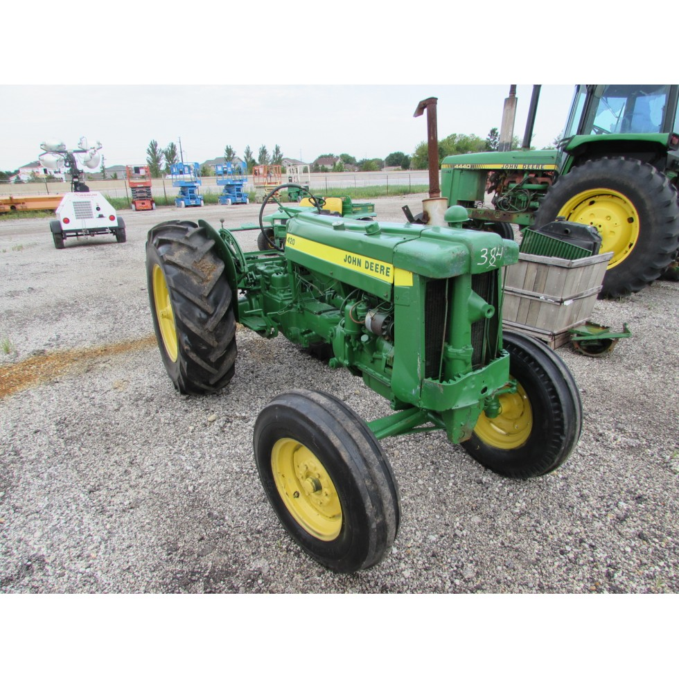 John Deere 420 Tractor For Sale