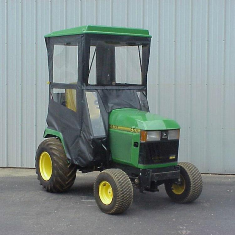 Hard Top Cab Enclosure for John Deere 425, 445, 455 Lawn ...