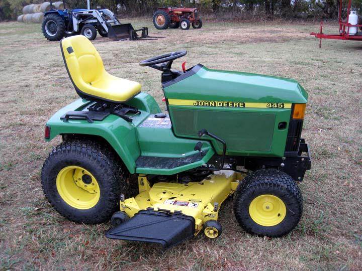 John Deere 455 Specs submited images.