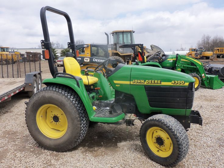 John Deere 4300 compact diesel tractor   John Deere ...