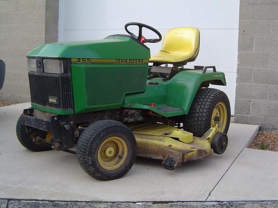 1994 John Deere 455 Lawn & Garden and Commercial Mowing ...