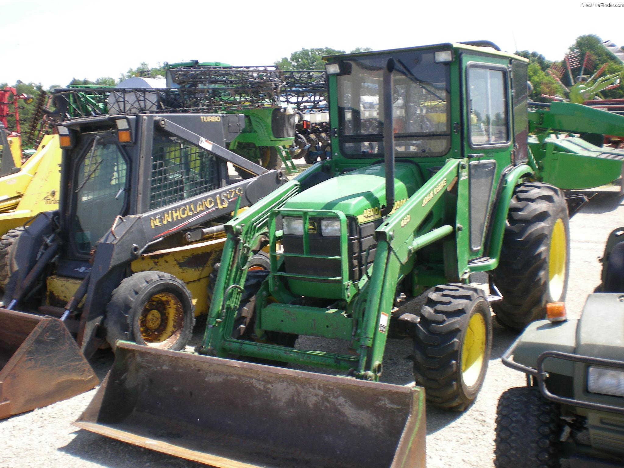 2000 John Deere 4600 Tractors - Utility (40-100hp) - John ...