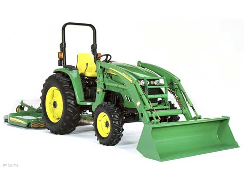 Vehicle Reviews for 2007 John Deere 4320 Compact Tractor ...