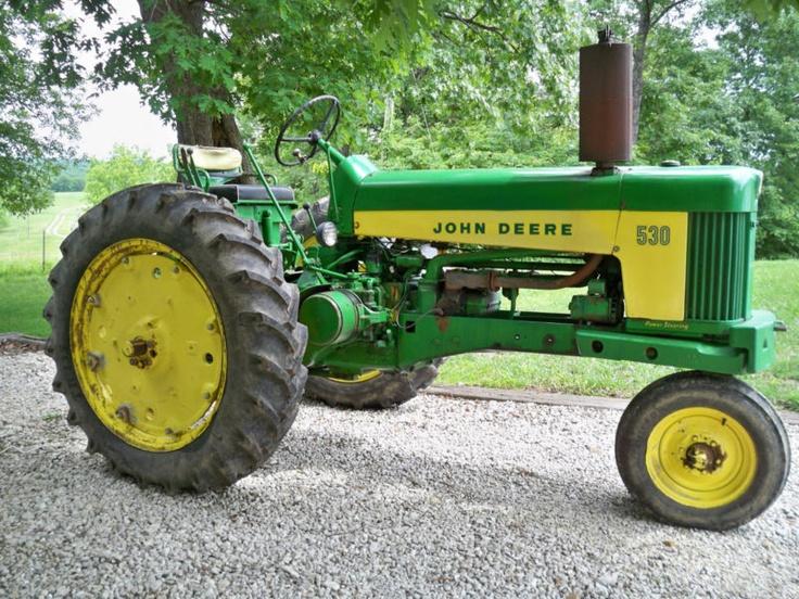 1959 John Deere tractor model 530 | John Deere | Pinterest