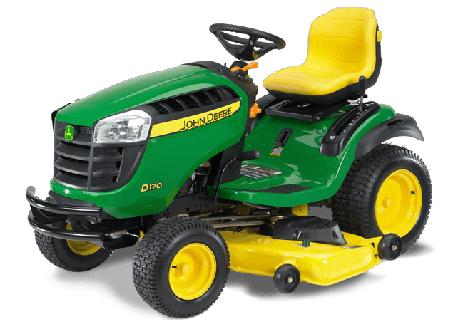 2014 John Deere 54 inch Model D170 Lawn Tractor Review ...