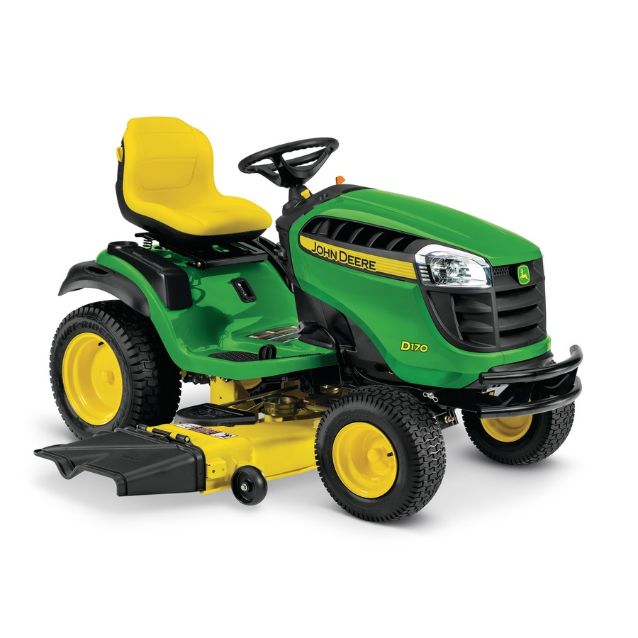 Shop John Deere D170 25-Hp V-Twin Hydrostatic 54-in Riding ...
