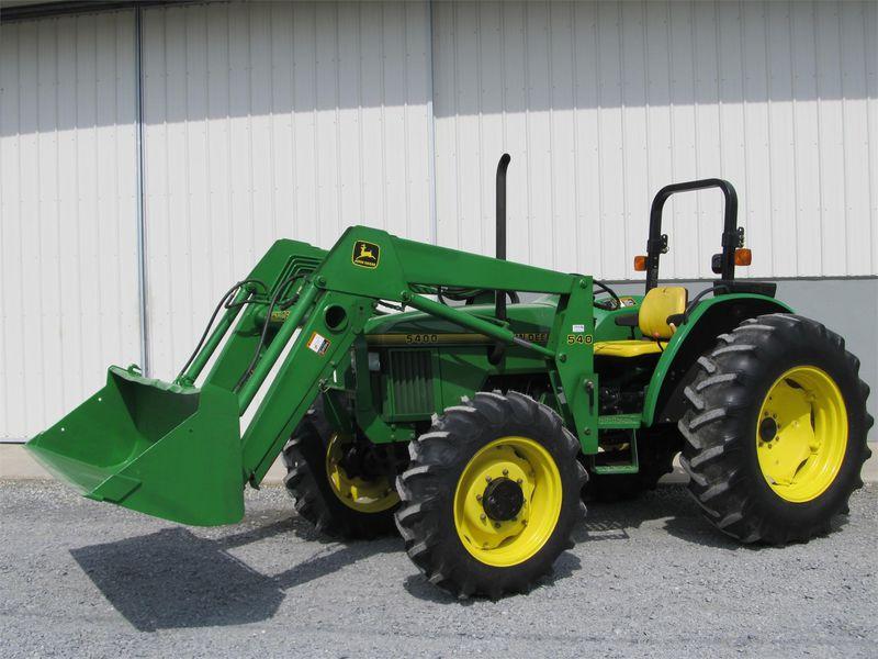 1995 John Deere 5400 Tractor #LV5400E441288 BURKHOLDER ...