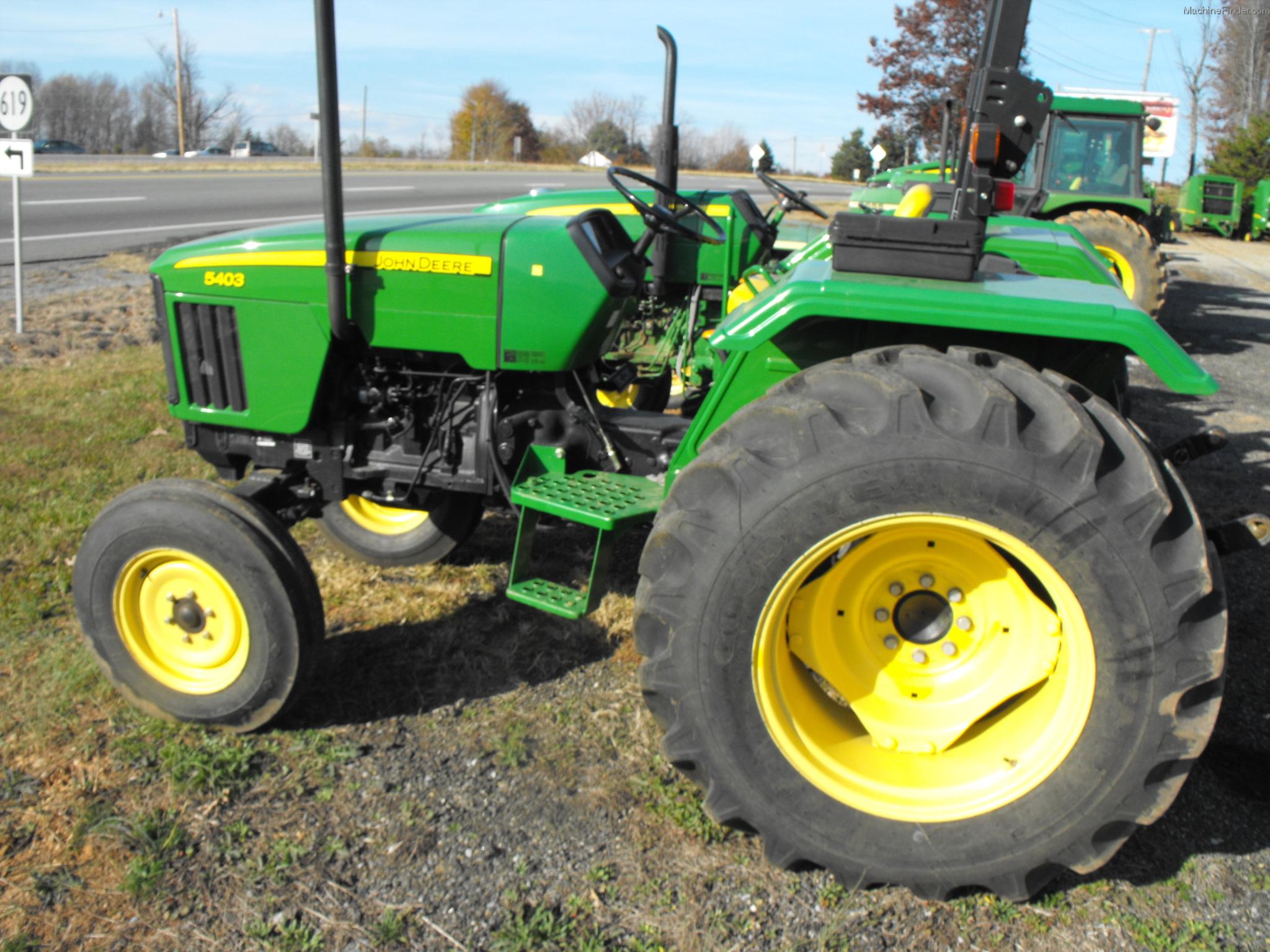 TractorData.com John Deere 5403 tractor photos information