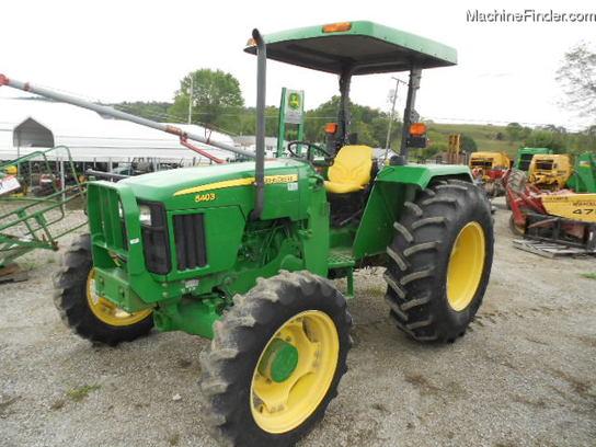 2008 John Deere 5403 MFWD CANOPY Tractors - Utility (40 ...