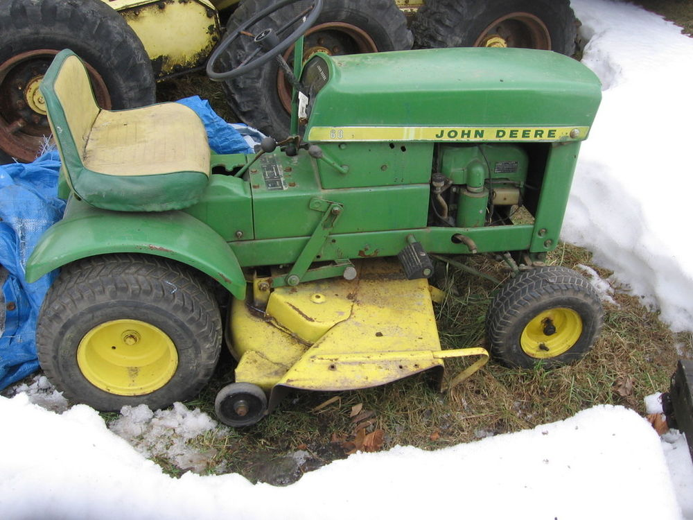 John Deere 60 Vintage Lawn Tractor   Tractor and Lawn