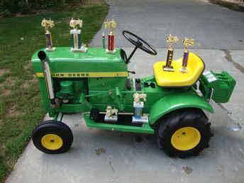 Used Farm Tractors for Sale: John Deere 60 Garden Tractor ...