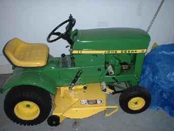 Used Farm Tractors for Sale: John Deere 60 Lawn Tractor ...