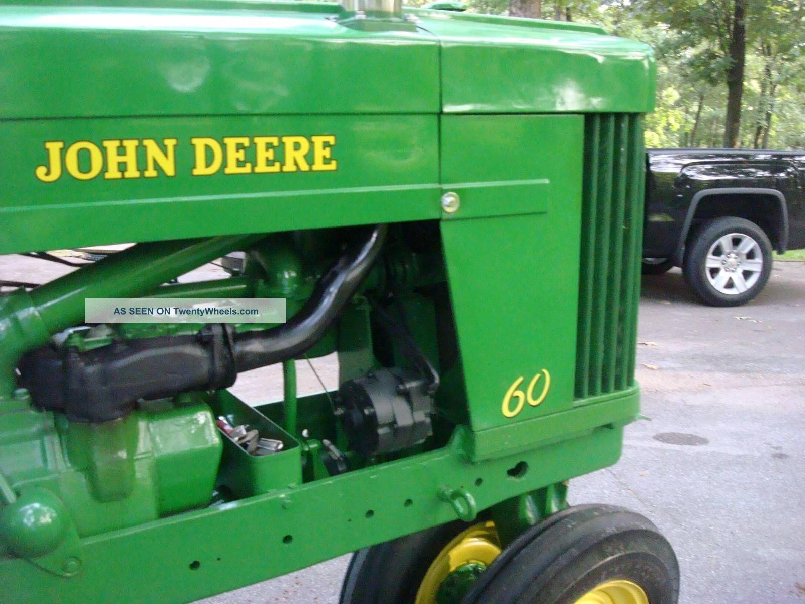 John Deere 60 Series Antique Tractor