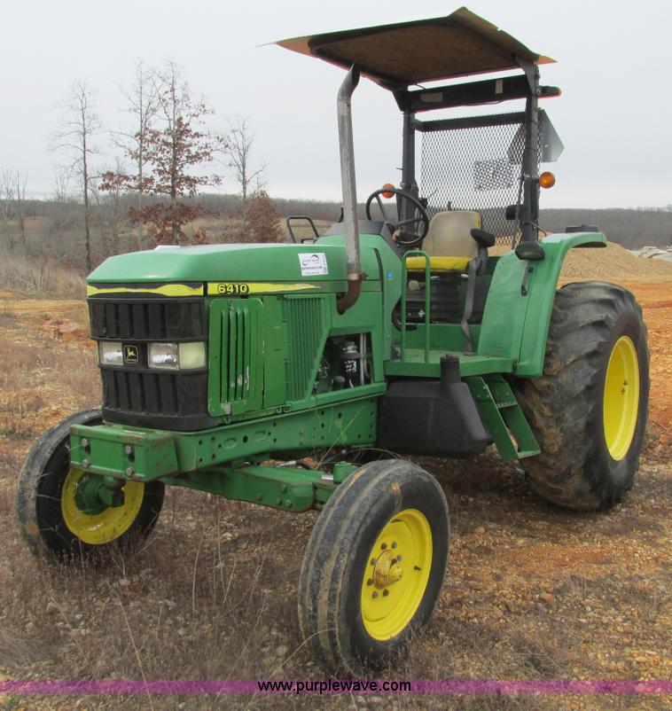 2001 John Deere 6410 tractor | no-reserve auction on ...