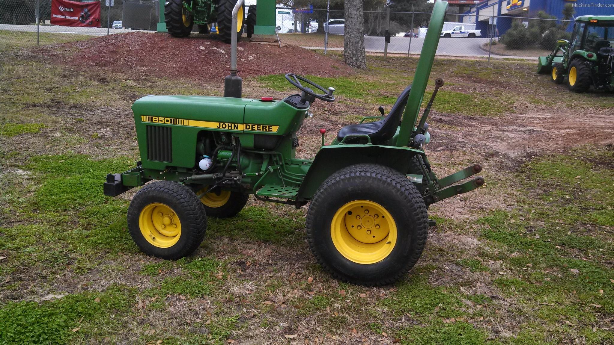 John Deere 650 Tractors - Compact (1-40hp.) - John Deere ...