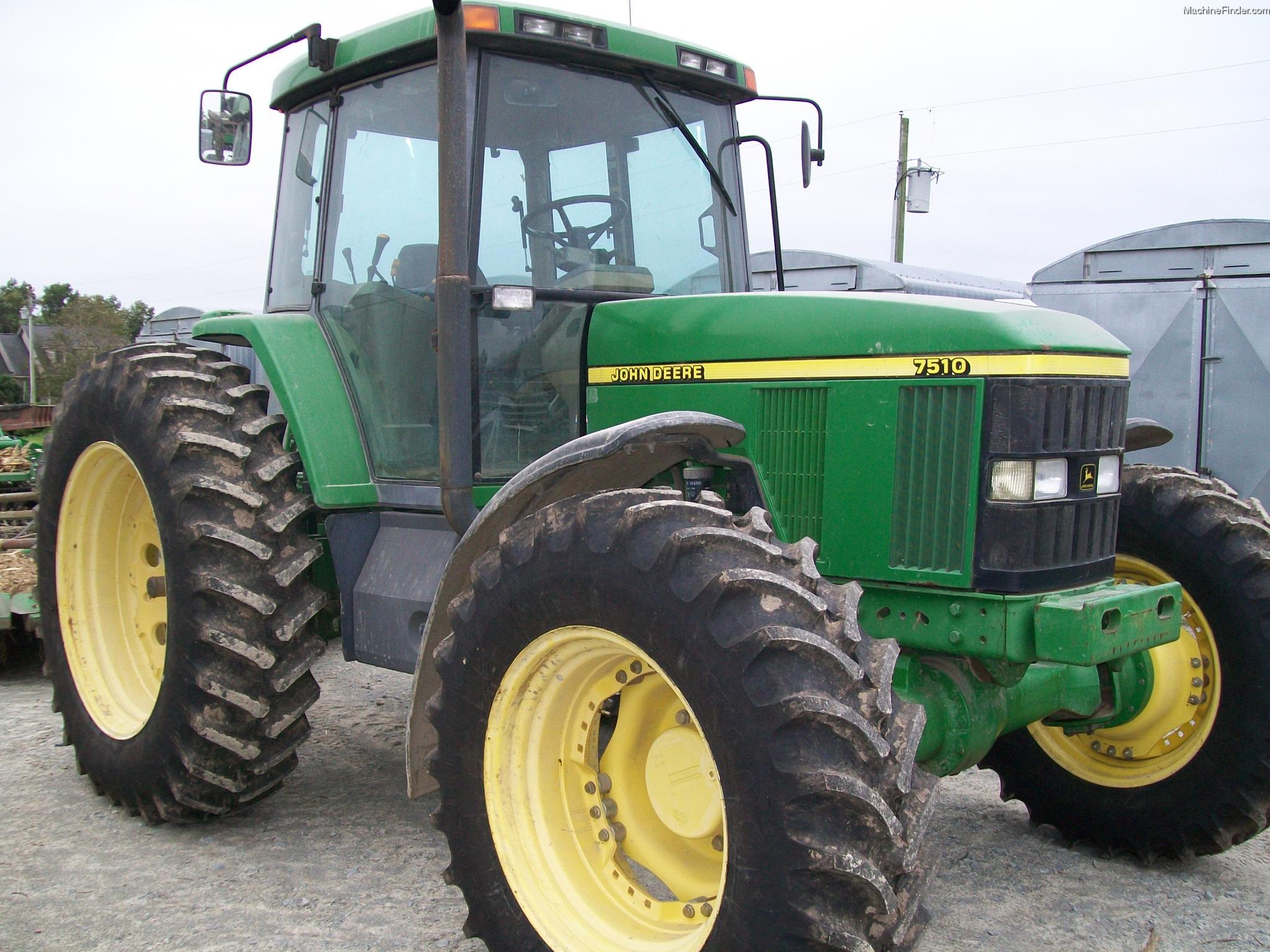 2000 John Deere 7510 Tractors - Row Crop (+100hp) - John ...