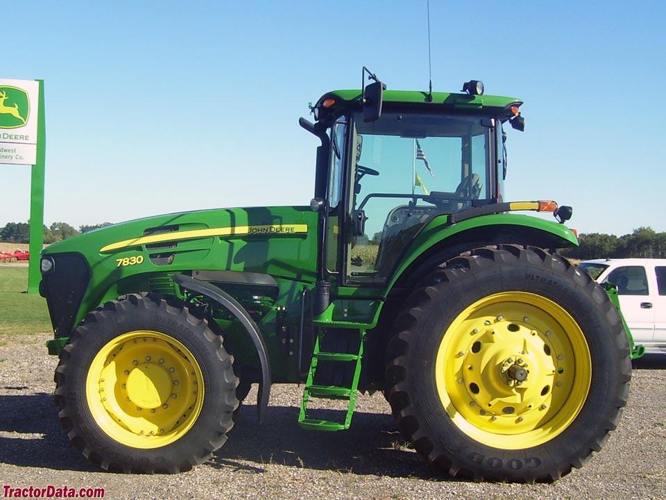 TractorData.com John Deere 7830 tractor photos information