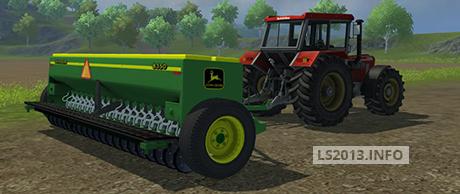John Deere 8350 Seeder   LS 2013 mods