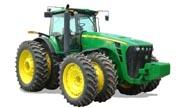 TractorData.com John Deere 8530 tractor engine information
