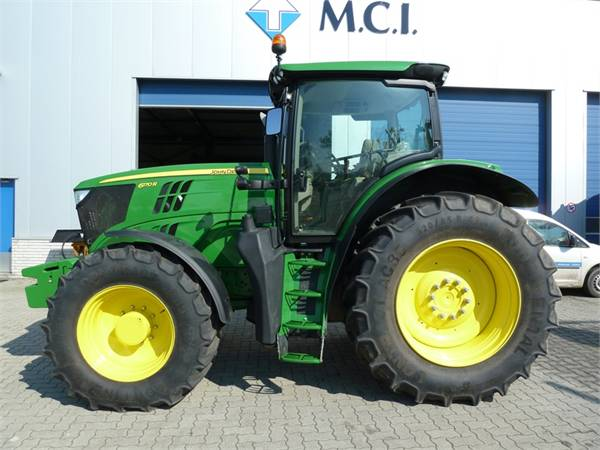 Used John Deere 6170R TLS + HCS tractors Year: 2012 for ...