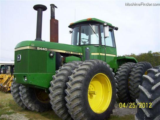 John Deere 8440 Tractors - Articulated 4WD - John Deere ...