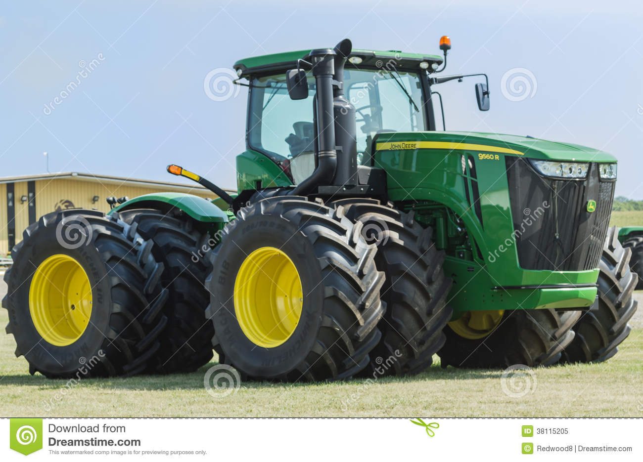 Large John Deere Tractor Editorial Image - Image: 38115205