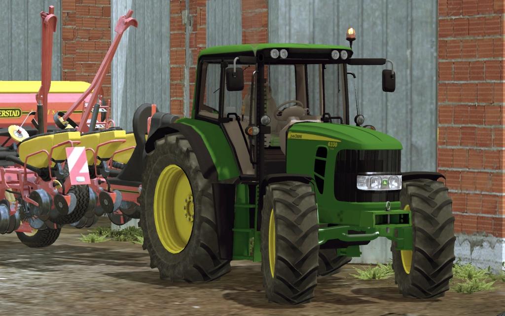 John Deere 6330 Premium Tractor FS 2015 Mod download