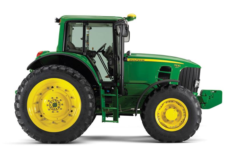 John Deere Tractor. MotoBurg