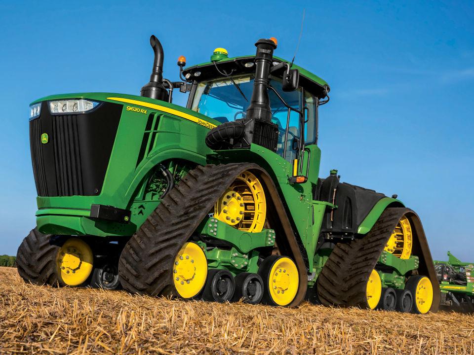 TractorData.com - Deere 9RX four-track tractors