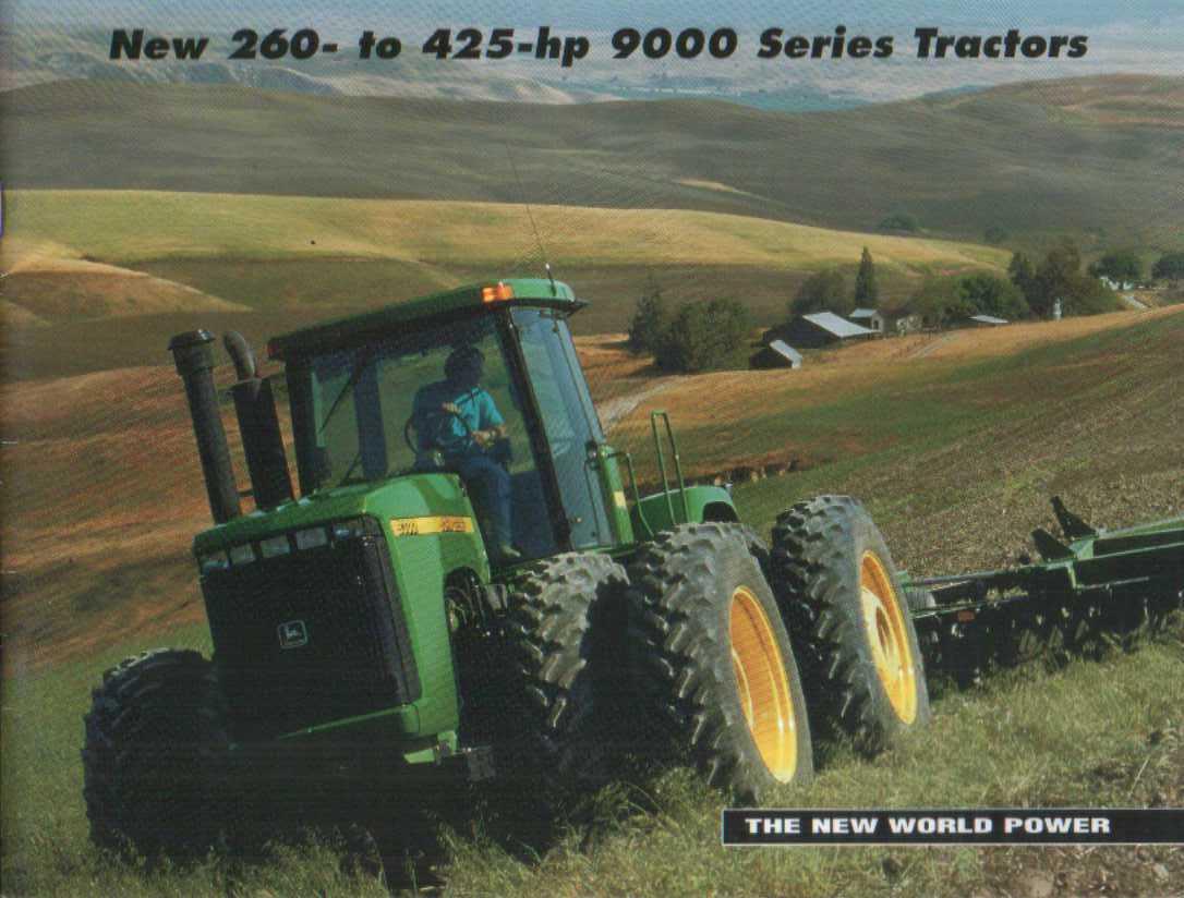 John Deere Tractors 9000 Series Images & Pictures - Becuo