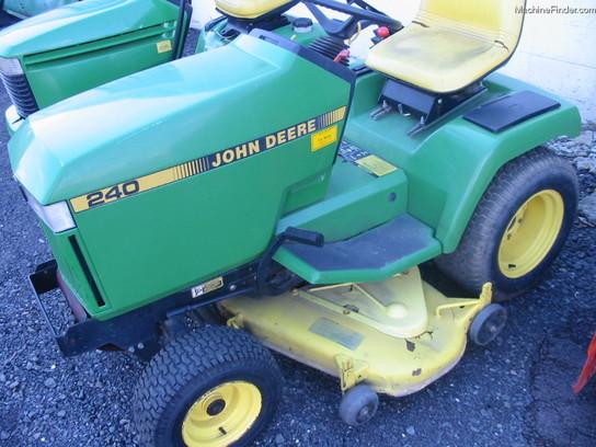 1990 John Deere 240 Lawn & Garden and Commercial Mowing ...