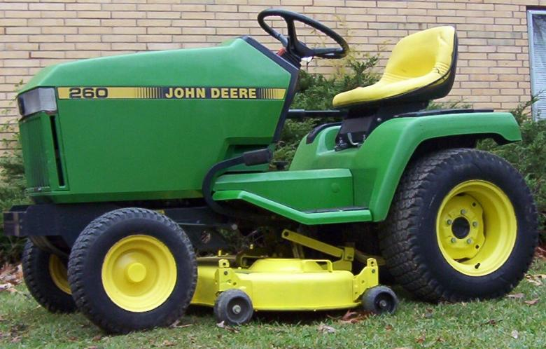 John Deere 260 Lawn Mower: John Deere 260 - e-cighq.com