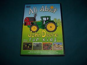 Details about ALL ABOUT JOHN DEERE FOR KIDS DVD PART 1