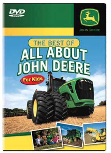 Best of All About John Deere For Kids DVD Train Video TM Books and ...