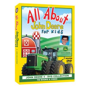 All About John Deere for Kids DVD Box Set