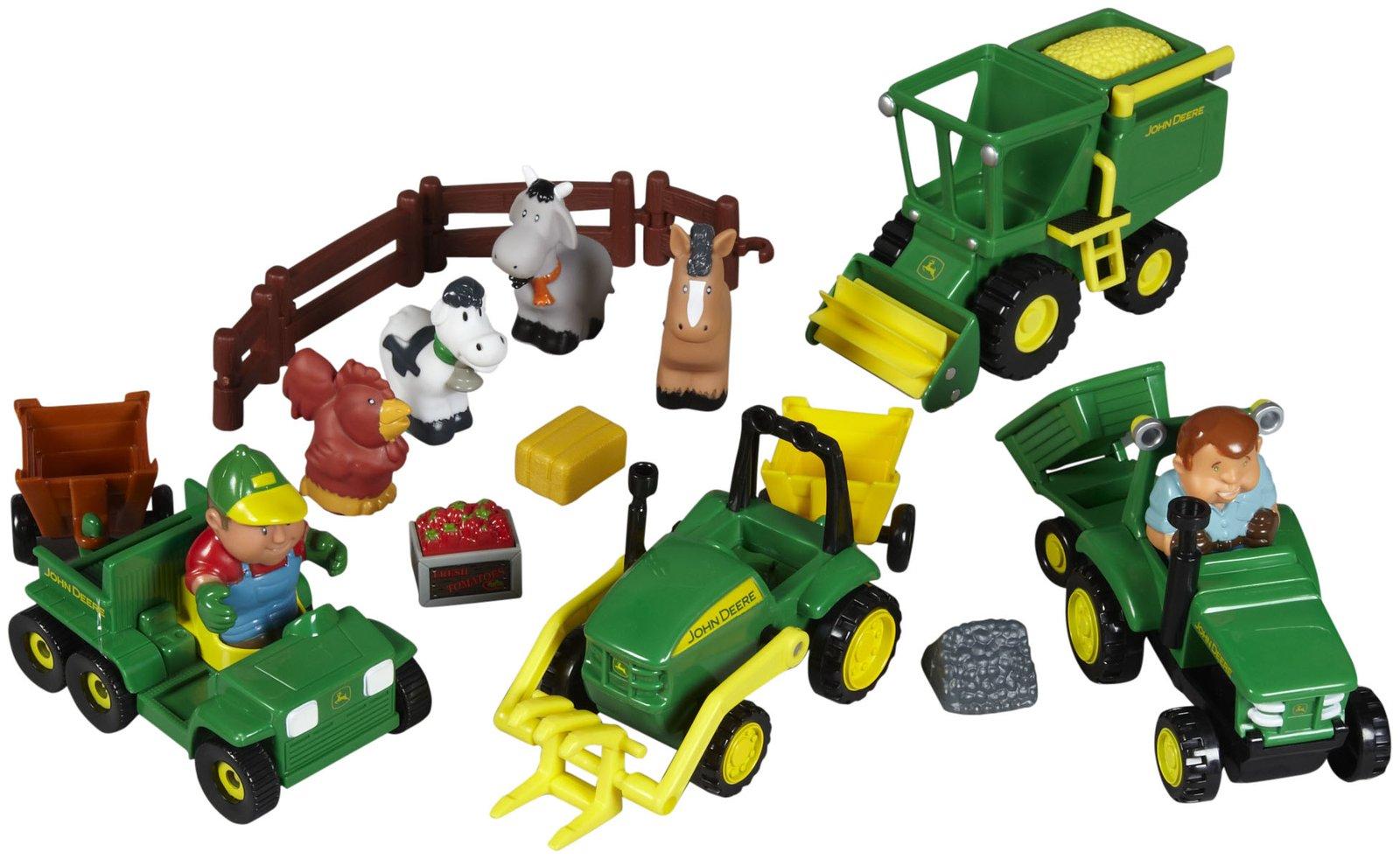 John Deere Fun On The Farm Playset - Free Shipping