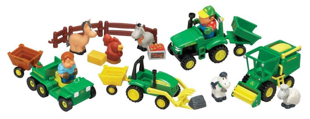 John Deere Fun on the Farm Playset - TBEK34984 | eBay