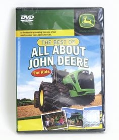 The Best of All About John Deere for Kids 60 min DVD