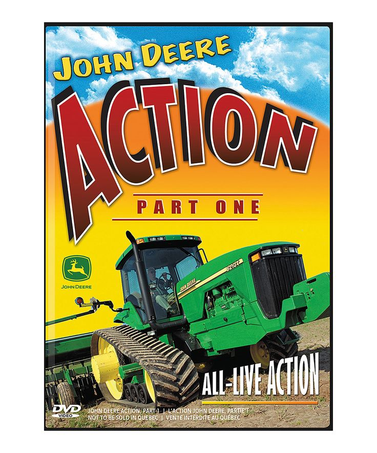 Look at this #zulilyfind! John Deere Action Part 1 DVD by John Deere # ...