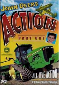 John Deere Action Part 1 DVD NEW. Cotton picker, skid steer, tractors ...