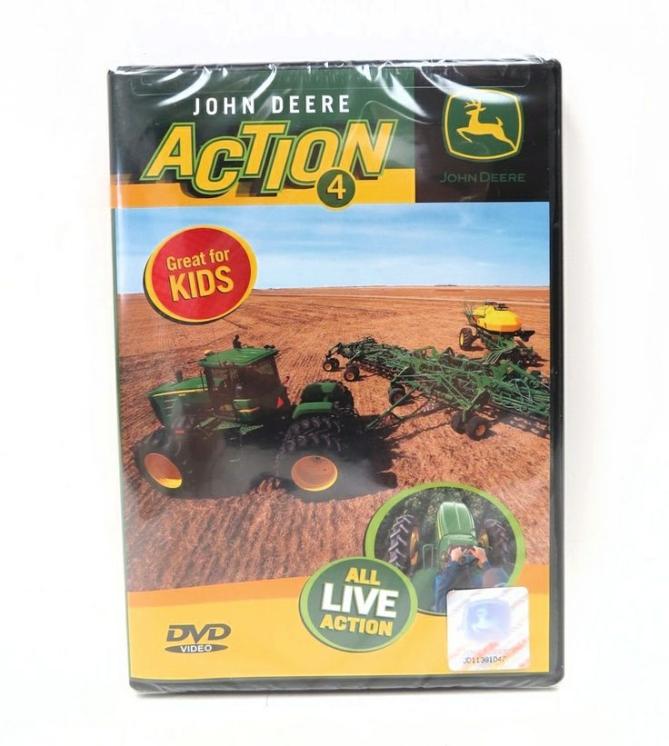 John Deere ACTION 4 DVD | Dvds & VHS | Pinterest