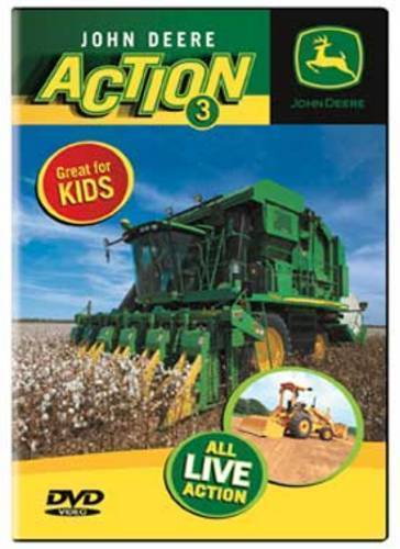 John Deere Action 3 DVD NEW - Great for kids. Bailers, tractors ...